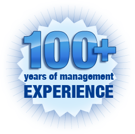 100+ years of management experience
